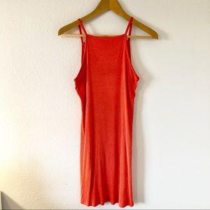 Mossimo Strappy Orange Mini Dress